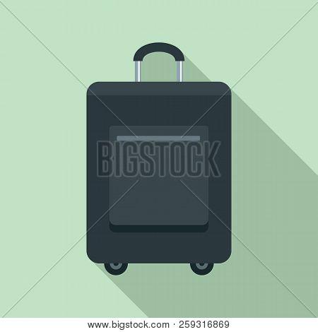 Trip Bag Icon. Flat Illustration Of Trip Bag Icon For Web Design