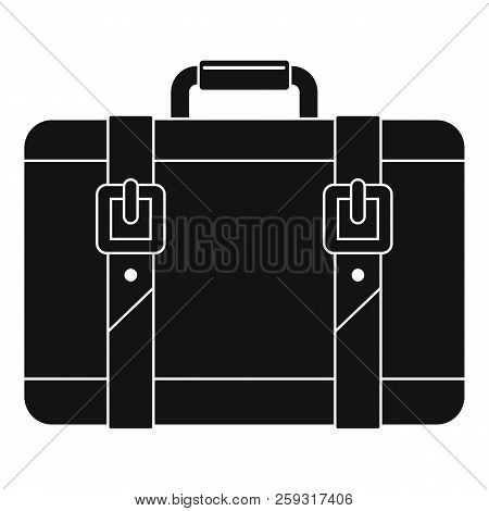 Trip Leather Bag Icon. Simple Illustration Of Trip Leather Bag Icon For Web Design Isolated On White