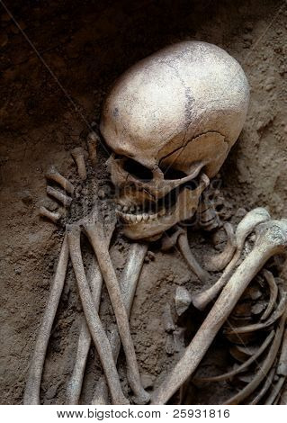 Sleeping Skeleton