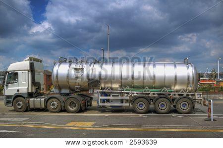 Liquid Container Truck