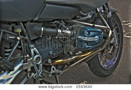 Side Valve Motorcycle  Engine