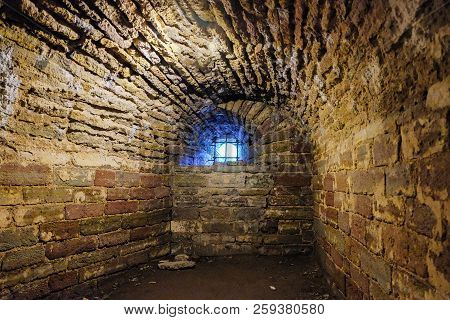 Old Ruins, Dungeons, Catacombs Of The Old Brick