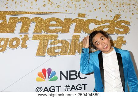 LOS ANGELES - SEP 19:  Winner of America's Got Talent 2018, Shin Lim at the
