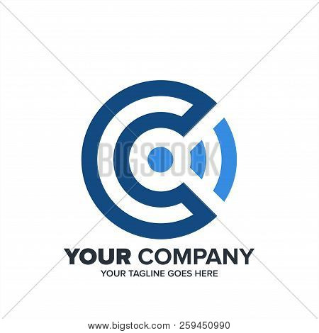 Creative Abstract Technology Logo Icon Template , Letter C Technology Logo With Wifi Icon, Wifi C Ic