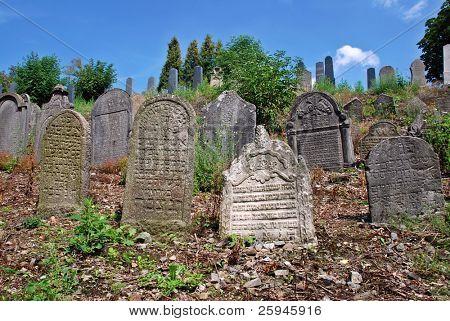 Oude Joodse begraafplaats uit de 15e eeuw