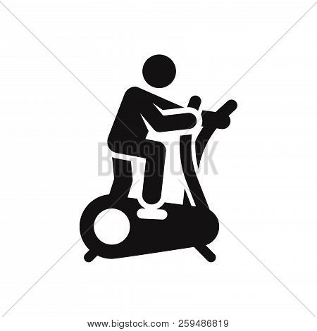Exercise Icon Isolated On White Background. Exercise Icon In Trendy Design Style. Exercise Vector Ic