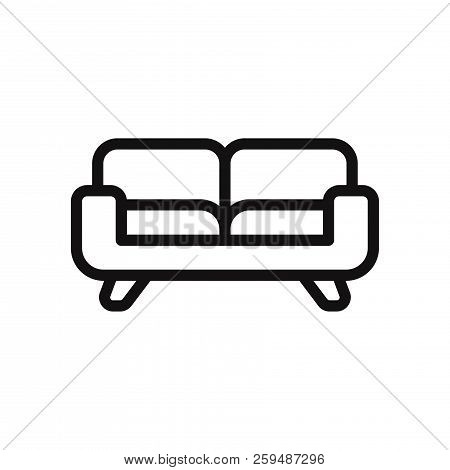 Sofa Icon Isolated On White Background. Sofa Icon In Trendy Design Style. Sofa Vector Icon Modern An