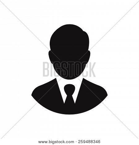 Businessman Icon Isolated On White Background. Businessman Icon In Trendy Design Style. Businessman