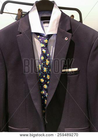 Shop of men's shirts ,suits.ties ,Business clothes,