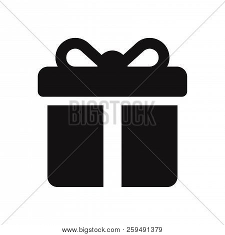 Gift Icon Isolated On White Background. Gift Icon In Trendy Design Style. Gift Vector Icon Modern An