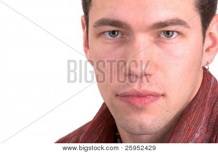 Handsome Young Man (Isolated)