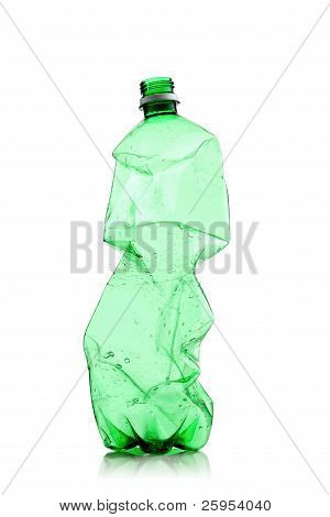 Smashed Water Bottle