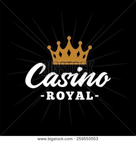 Casino Royal Logo Design. Vector And Illustration.