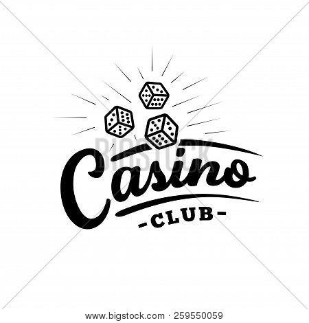 Casino Club Logo Design. Vector And Illustration.