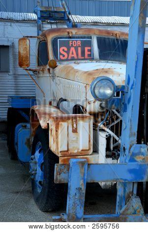 Rusting Forklift For Sale