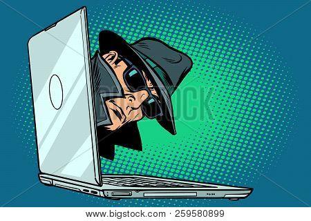 Spy  Laptop Computer Vector & Photo (Free Trial) | Bigstock