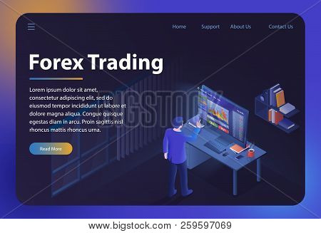 Forex Trading. Online Bitcoin Business And Financial Technology. Finance, Global Digital Money. Cryp
