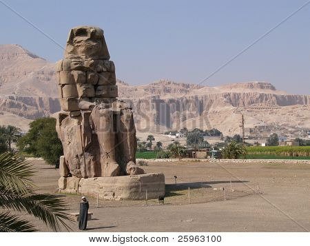Memnon Colossi