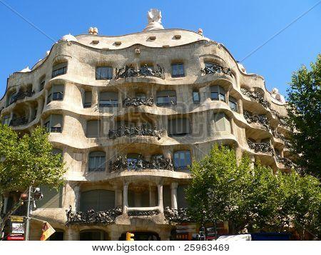 Casa de La Pedrera de Barcelona