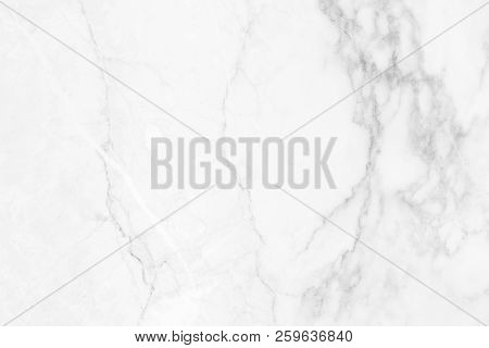 White Marble Surface Background With Beautiful Patterns