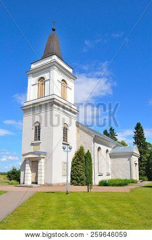 Hamina, Finland. The Medieval Church Of St. Mary