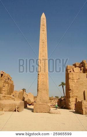 Hatshepsut's Obelisk in Carnak temple, Luxor, Egypt