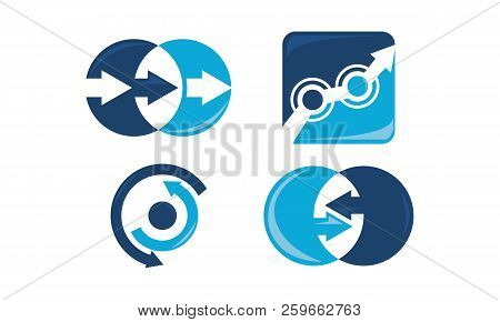 Signal Input Output Set Design Sign Solution poster