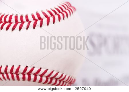 Baseball And The Sports Section