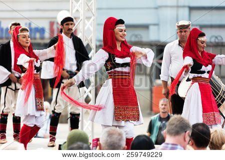 International Folklore Festival In Zagreb, Croatia