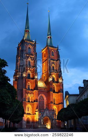Saint John Cathedral Church in Wroclaw, Poland