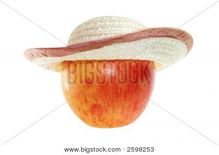 Apple In Hat.