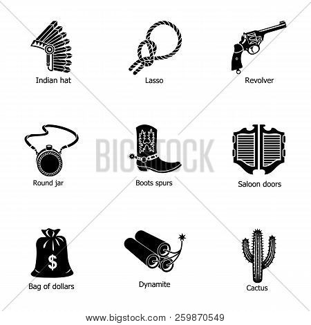 Wild Edge Icons Set. Simple Set Of 9 Wild Edge Vector Icons For Web Isolated On White Background