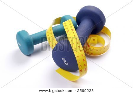 Gewichte mit meter
