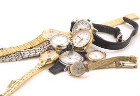 mehrere Armbanduhren