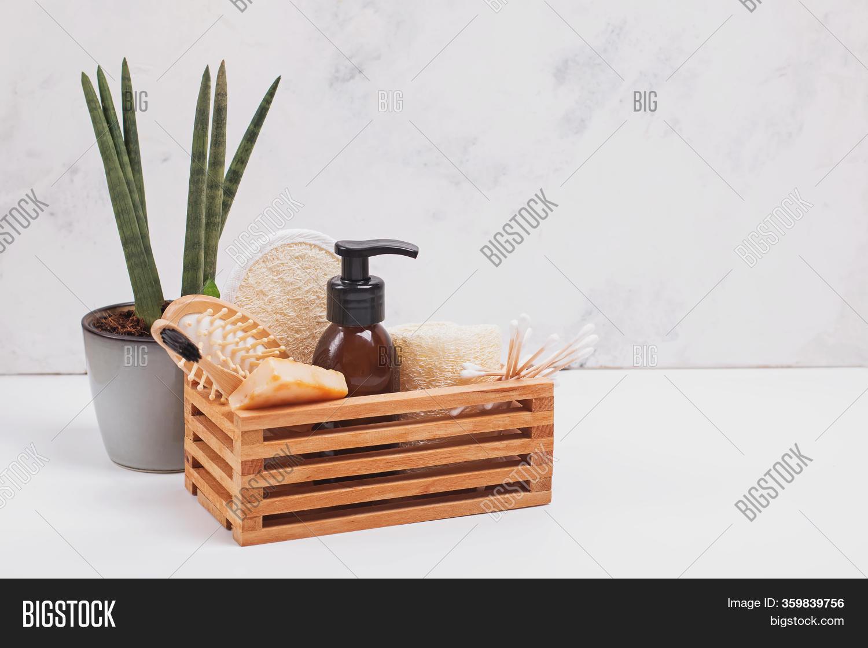 Eco Natural Bathroom Image Photo