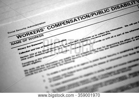 Workers compensation forms injured on the job and seeking help