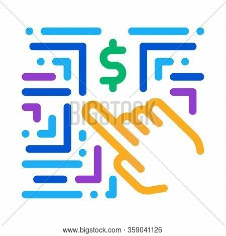 Money-making Innovation Icon Vector. Money-making Innovation Sign. Color Contour Symbol Illustration