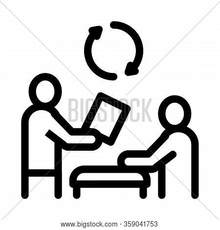 Disk Formatting Icon Vector. Disk Formatting Sign. Isolated Contour Symbol Illustration
