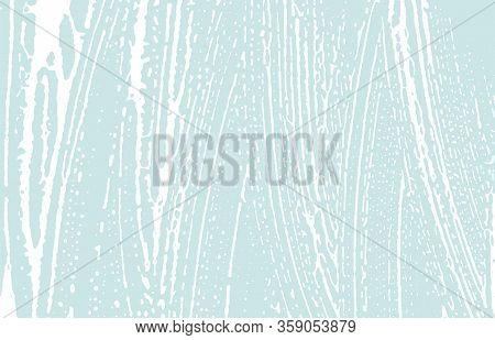 Grunge Texture. Distress Blue Rough Trace. Comely Background. Noise Dirty Grunge Texture. Exquisite