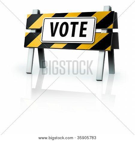Voting Warning