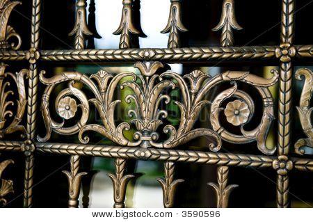 Detailed Decorative Metal Work