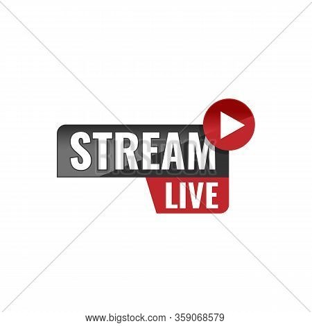 Live Streaming Label Vector Template