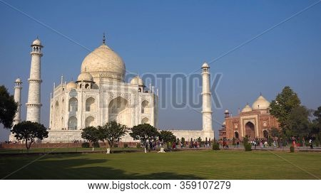 World Wonder Taj Mahal Agra India