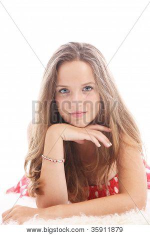 Dispirited Teenage Girl