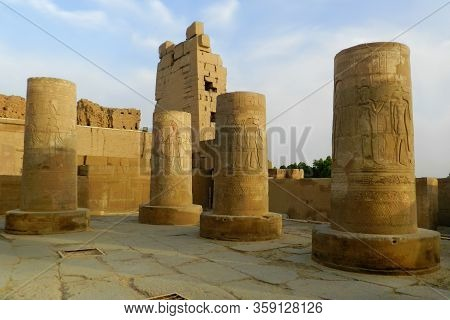 Ruins Of The Temple Of Kom Ombo, Egypt