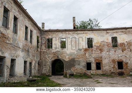 Ruins Of Old Klevan Castle Built In 15th Century Prince Michael Czartoryski In Order To Control A Fo