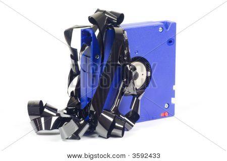 Damaged Computer Backup Tape