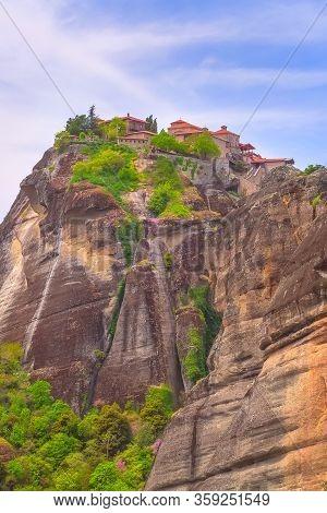 The Great Meteoron Monastery, Meteora Mountain Rock, Trikkala, Greece