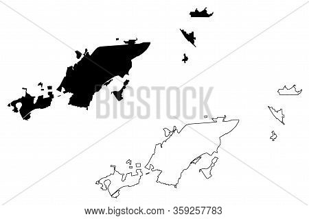 Vladimir City (russian Federation, Russia) Map Vector Illustration, Scribble Sketch City Of Vladimir