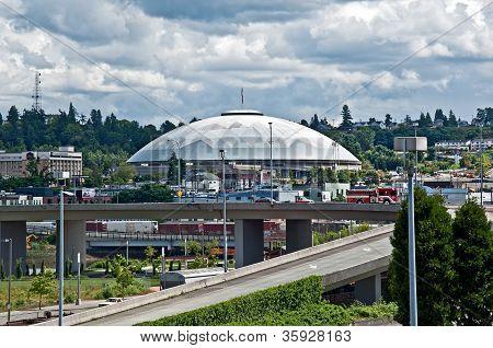 Tacoma, Wa - June 14 - Tacoma Dome Largest Wood Dome In World